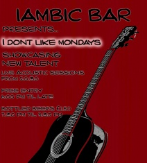 Launch of I don't like Monday s at iambic bar