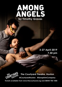 New play 'Among Angels' by Timothy Graves opens next month for a 4 week run!