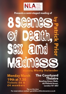 North London Actors presents 8 Scenes of Death, Sex and Madness