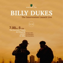 Billy Dukes the Intervention Album Launch