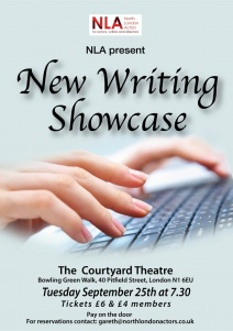 North London Actors presents the New Writing Showcase