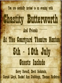 Chastity Butterworth & Featuring Special Guests!