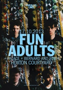 Parallel Lines Presents: Fun Adults + guests