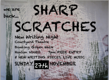 Sharp Scratches New Wrtiting Night