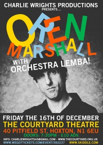 Charlie Wrights Productions Presents: Oren Marshall With Orchestra Lemba