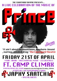 A Live Celebration of Prince w CAMP CLIMAX and JAPHY SAATCHI